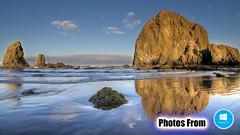 Photos From Windows 10 Launch Screan 11 - Ocean Rocks Beach Waves Shore