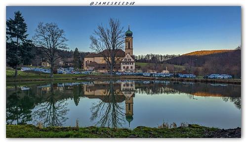 Etang et Basilique de Thierenbach - Haut Rhin
