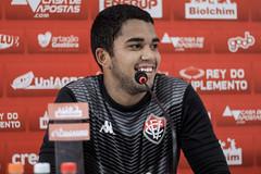 Coletiva 10/01/2020 - Lucas Arcanjo - Fotos: Letícia Martins/ECVitória
