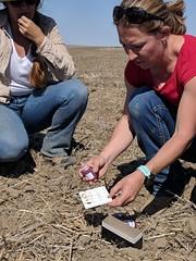 Soil Scientist - Jennifer Moffitt (right) _ 2