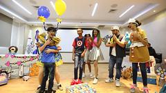 CAID recibe a niños y niñas con juguetes, canciones y bailes  en una  fiesta de integración familiar por el Día de los Reyes.