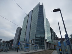 Three Snowhill new home of BT from St Chad's Tram Stop