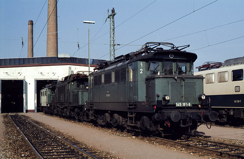 DB 145 161 Bw Haltingen 29.10.1978