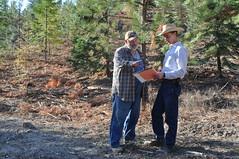 Soil Conservationist - Nick Vora (right)