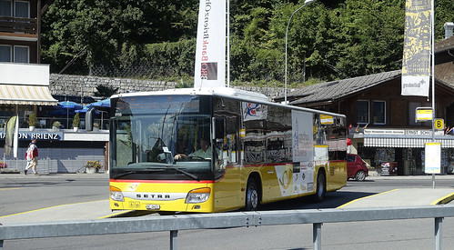 DB1113.  SETRA Post Bus, Brienz.