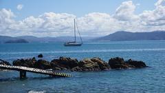 Seatoun Wharf in Wellington Harbour