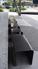 Benches on Queen's Wharf