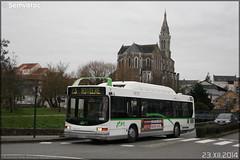 Heuliez Bus GX 217 GNV – Semitan (Société d'Économie MIxte des Transports en commun de l'Agglomération Nantaise) / TAN (Transports en commun de l'Agglomération Nantaise) n°409