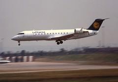 D-ACLT Canadair CRJ-100LR Lufthansa BHX 22-07-96
