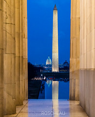 Blue hour at the National Mall #explored