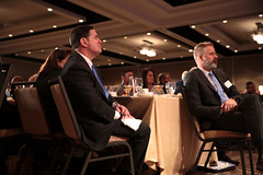 Doug Ducey with attendees