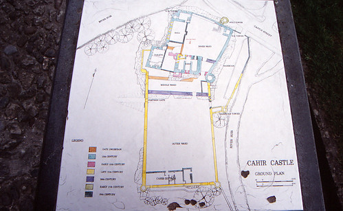 Cahir Castle Map