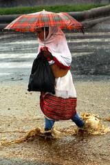Rainy season in Addis Ababa, Ethiopia.