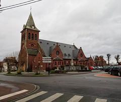 Deûlémont, L'église Saint-Symphorien - Photo of Bois-Grenier