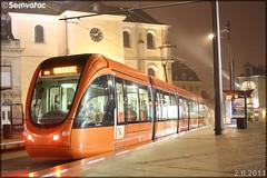 Alstom Citadis 302 – Setram (Société d'Économie Mixte des TRansports en commun de l'Agglomération Mancelle) n°1009 (Rouillon)