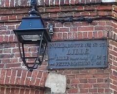 Lille Plaque de cocher rue de Gand