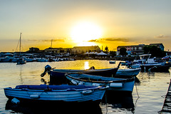 Sunset in Marzamemi