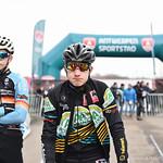 BK Cyclocross Antwerpen 1 st. Jaars Nieuwelingen 11-01-2020