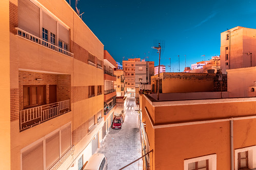 Warm Winter Night in Almeria