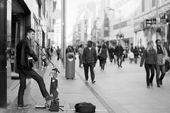 Street Performer Musician Music Edited 2020