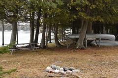 Awaiting spring on Drummond Island