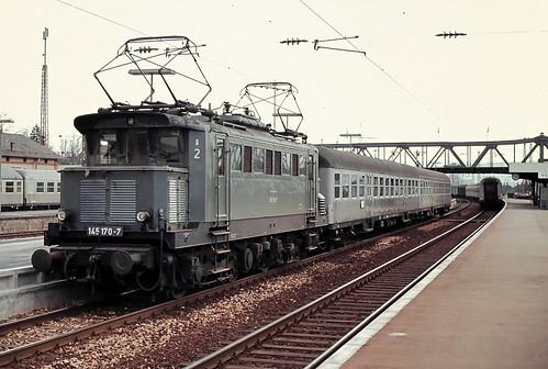 DB 145 170 Bf Weil (Rhein) 22.03.1978