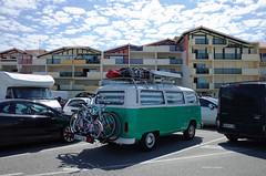 Old Van at Vieux-Boucau-les-Bains