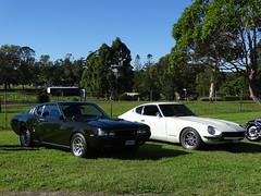 Toyota Celica and Datsun 240Z