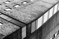 DSC_1752 abstract architecture - b&w photography