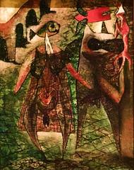 Pescadores das Berlengas [The Berlenga Island Fishermen] (1949) - Marcelino Vespeira (1925-2002)