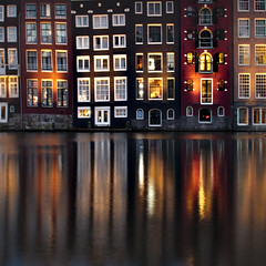 Houses on the water — Amsterdam