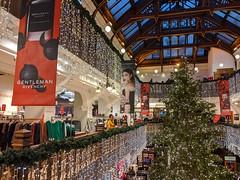 The Jenners Christmas Tree, Princes Street, Edinburgh, Dec 2019
