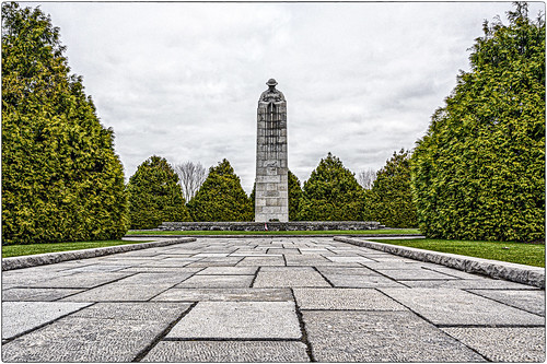 Canadian WW1 memorial - the