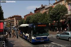 Heuliez Bus GX 327 – Tisséo n°0722