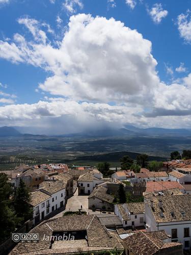 Vistas desde la torre de la catedral de Baeza.jpg
