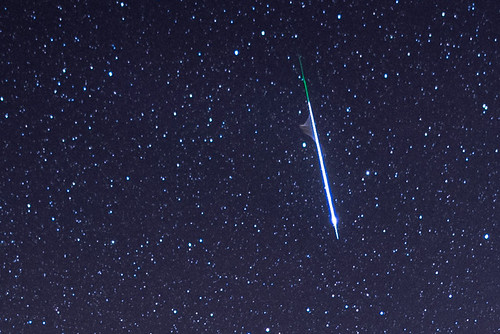 Detall meteor quadràntid