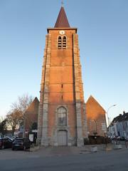Leers-sud France  Église St Vaast  (1)
