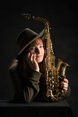 Saxophone Music Musician Instrument Edited 2020