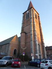 Leers-sud France  Église St Vaast  (4) - Photo of Leers