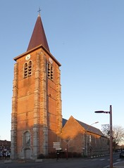 Leers-sud France  Église St Vaast  (2)