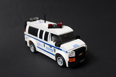 Chevy Express Van NYPD
