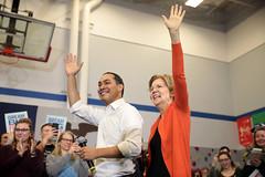Julian Castro & Elizabeth Warren