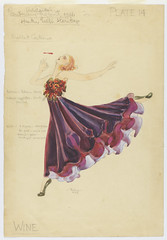 Wine Ballet Costume for Adelaide's Centenary Pageant, 1936, design by Thelma Afford