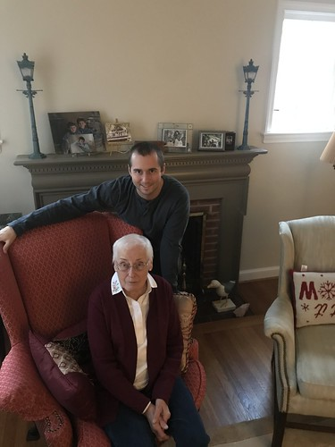 Gramma & Michael, Thanksgiving 2019