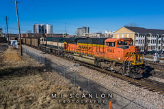 BNSF 9145 | EMD SD70ACe | BNSF Thayer South Subdivision