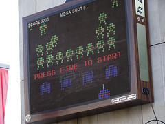 Space Invaders Screen