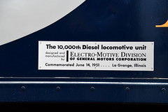 Wabash E8 Diesel Electric Locomotive 1009 at the Virginia Museum of Transportation