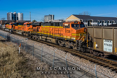 BNSF 5728 | GE ES44AC | BNSF Thayer South Subdivision