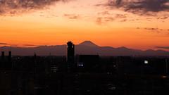 Closer view of Mt. Fuji