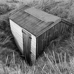 Buried Beach Hut by Martin Parratt